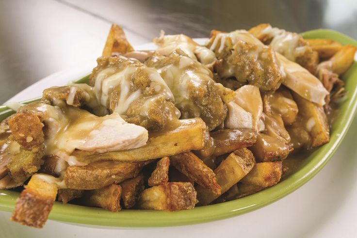 If you love family restaurants dedicated to simple and delicious homemade meals then Colette's in Glace Bay, NS is the place for you! From her family to yours, Colette shares a much loved poutine recipe with a festive holiday twist, the Famous Festive Poutine. Share with family and friend this Christmas because fries, turkey, and gravy...oh my!