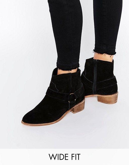 ASOS   Замшевые туфли на широкую ногу ASOS ANYA