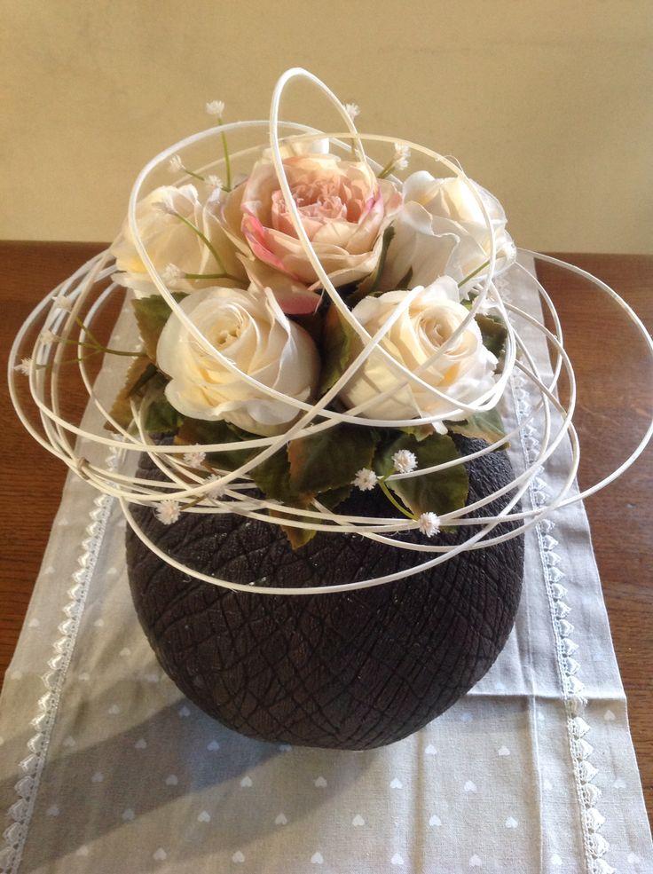 Artificial rose by Carmen Gambarota