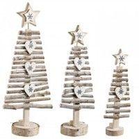 http://www.palazzo.sk/vianocne-dekoracie/vianocne-dekoracne-stromceky/3-drevene-stromceky / MINI CHRISTMAS TREES
