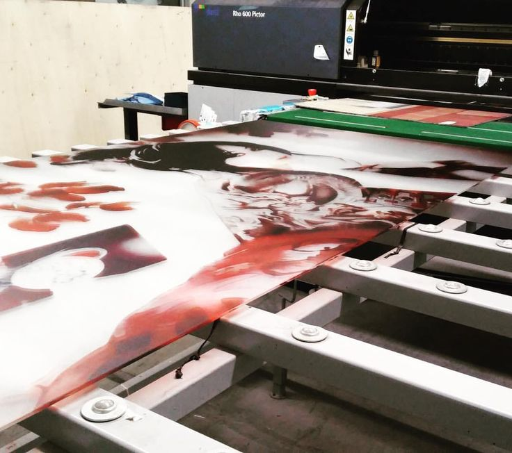 Digital Print on glass.