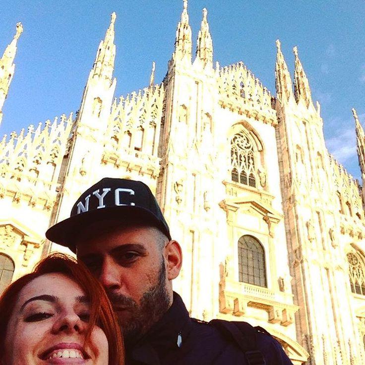 Facce D(')uomo  #duomodimilano #duomo #milano #milan #milanodavedere #us #couple #lover #love by dom3nique