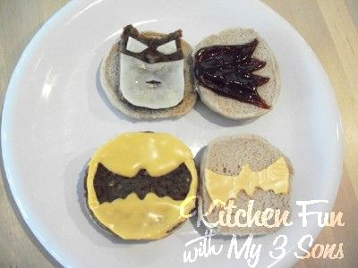 Kitchen Fun With My 3 Sons: Batman Blondie Brownies