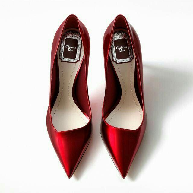 Christian Dior pumps | Bride heels