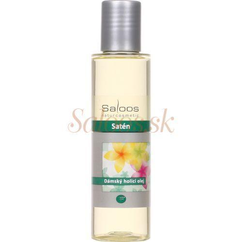 Saloos.sk - BIO prírodná kozmetika - Na telo - Sprchové oleje - Satén - olej na holenie Saloos