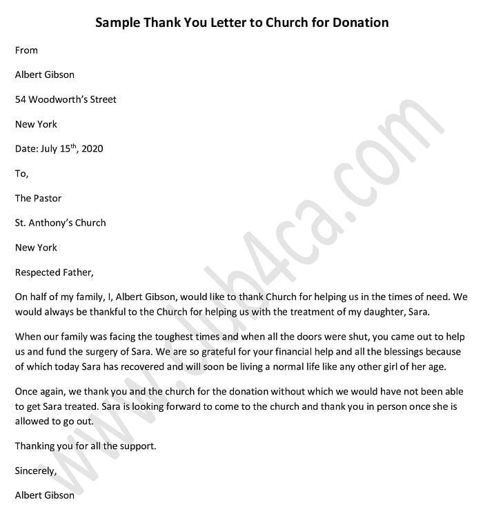 Pin On Donation Letters Templates And Example