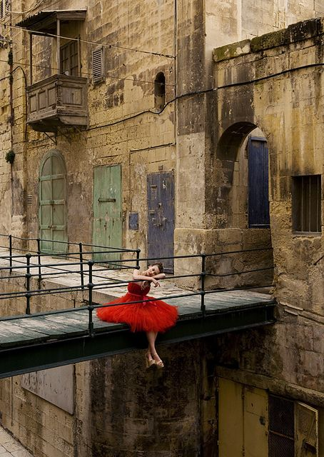 Shot in Valletta, Malta! Chanelle by Rebecca Miller Photography, via Flickr