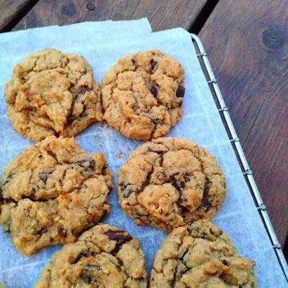 tessas design: Veganske sjokoladecookies