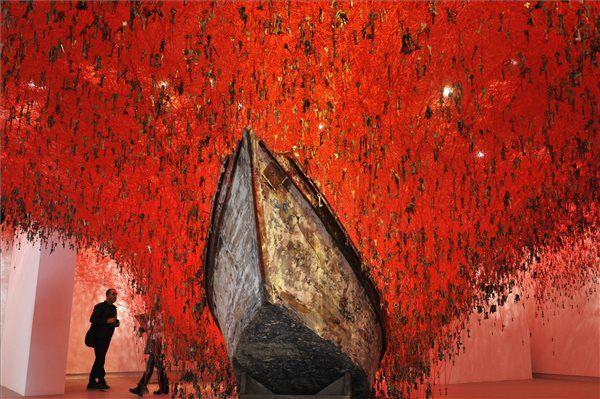 Japan pavilon Venice Biennale (fotó: Kovács Tamás, MTI)
