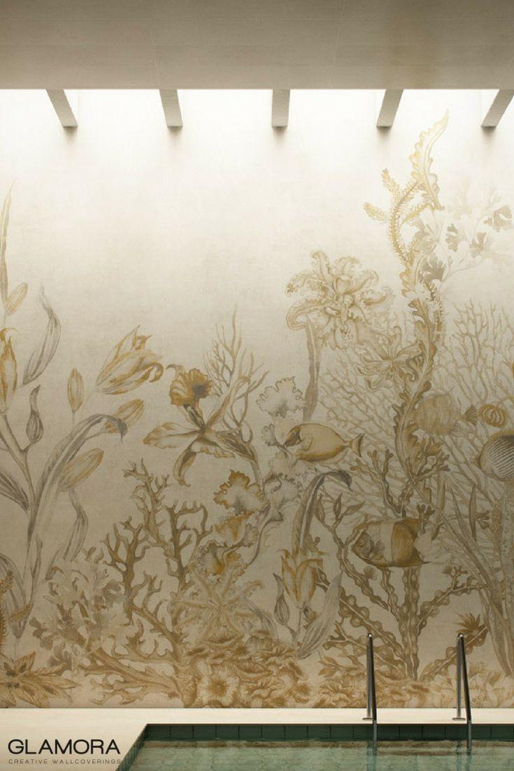 Aquarium   Wallcovering & Carta da Parati   Fresh Inspiration 2017 by Glamora