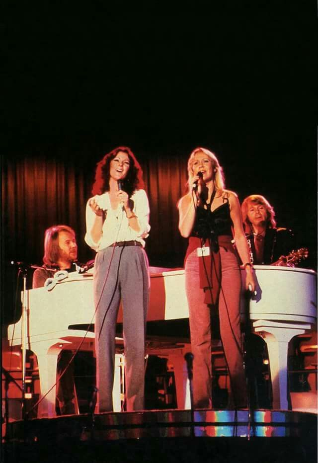 ABBA rehearsal Chiqutita A Gift Of Song The Year Of Child in USA 1979