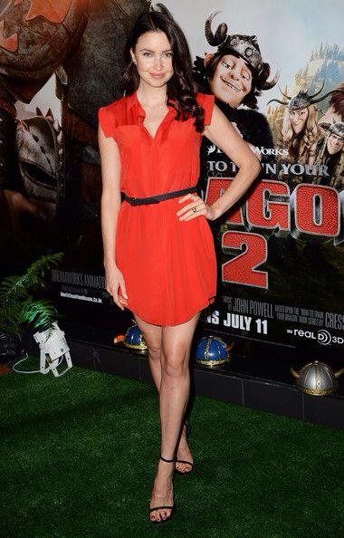 Emma Miller wearing T by Alexander Wang - How to Train Your Dragon 2 Gala Screening