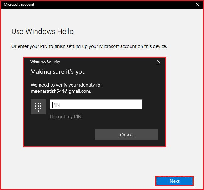 How to change the account type in Microsoft windows OS