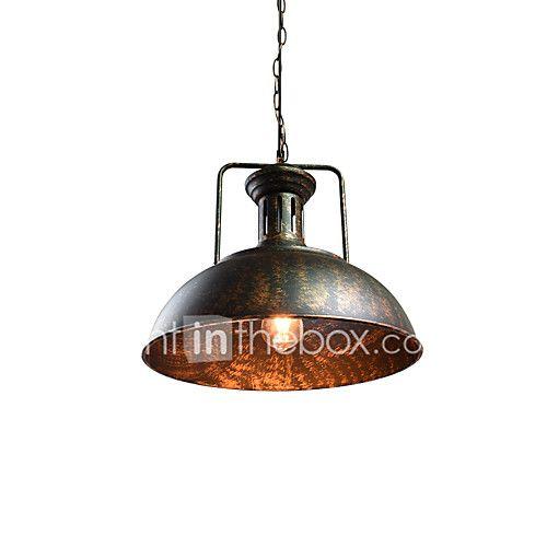 Plafond Lichten & hangers , Hedendaags Rustiek/landelijk Vintage Retro Schilderen Kenmerk for LED MetaalWoonkamer Slaapkamer Eetkamer 2017 - €100.48