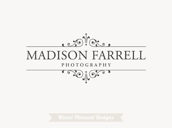 Hey, I found this really awesome Etsy listing at https://www.etsy.com/listing/155184903/premade-photography-logo-design