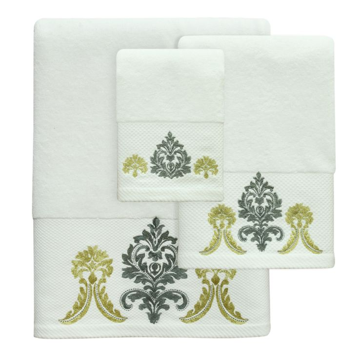 Portico Yellow Towel - Bath / Hand / Wash sold individualy