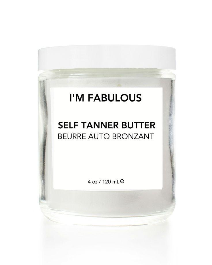 Organic Self Tanner - DHA Free TAN