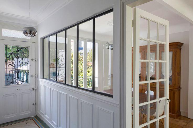 Verrière atelier d\'artiste d\'intérieur - Cloison vitrée modèle ...