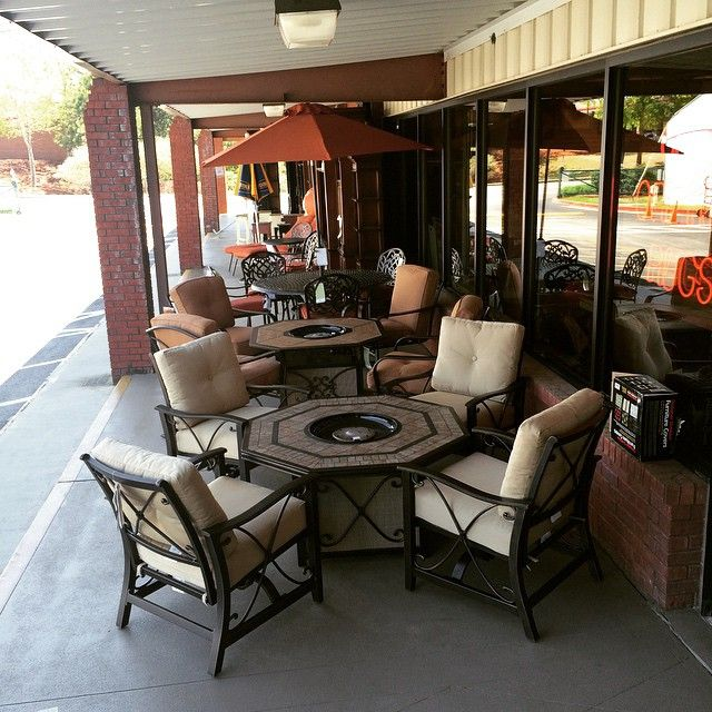 Stop By And Check Out The New Outdoor Line From Klaussner! #FIREPIT #wfo. Furniture  OutletWoodstockFurniture Mattress