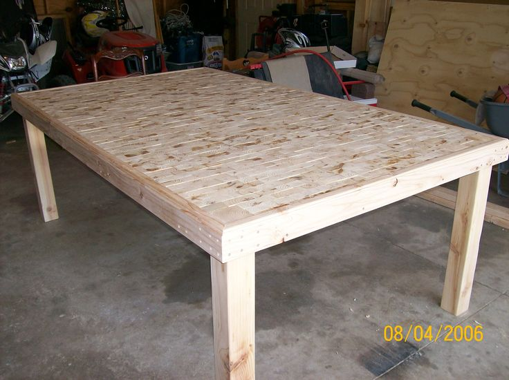 1000 images about furniture project on pinterest for 2x4 farm table