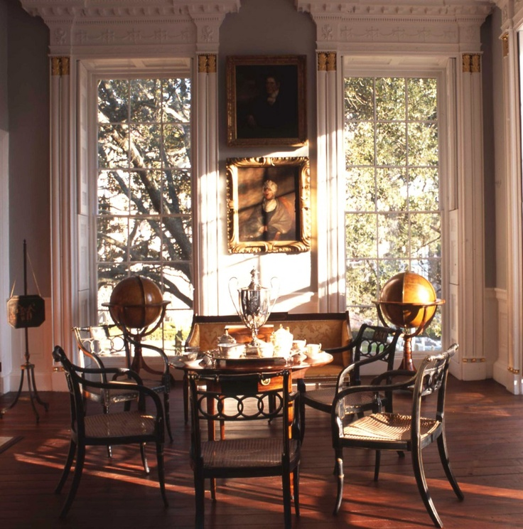 Morning Room Nathaniel Russell House CharlestonSC Miss The Southern Light