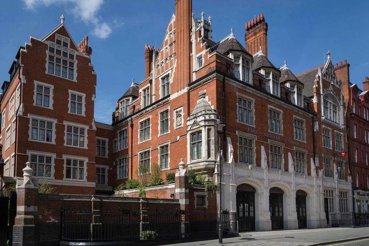 Andre Balazs' first London hotel, Chiltern Firehouse #goopgo