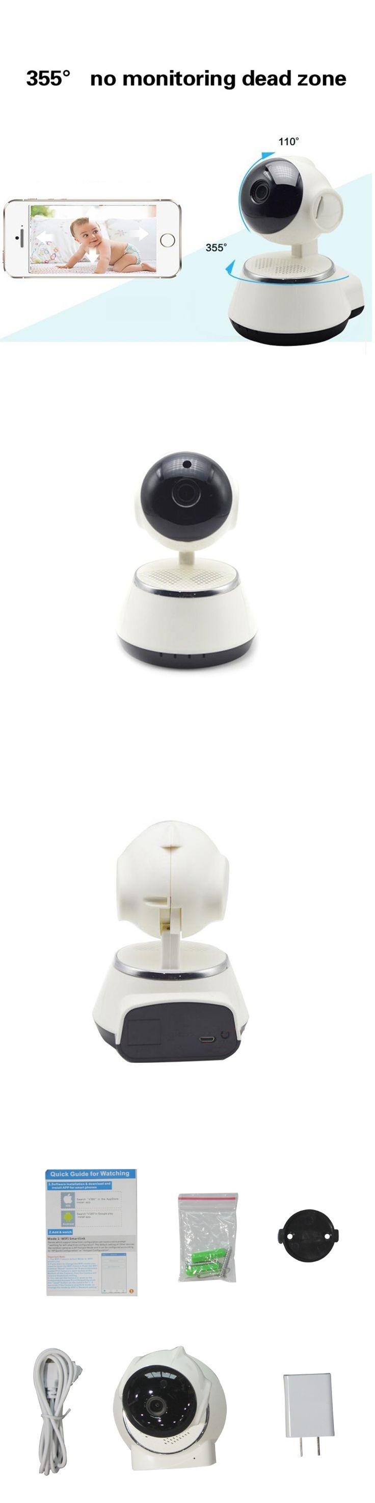 Home Security IR Cut Night Vision IP Camera Wireless Surveillance Wifi 720P CCTV Camera Baby Monitor 32GB 64GB Memory TF card