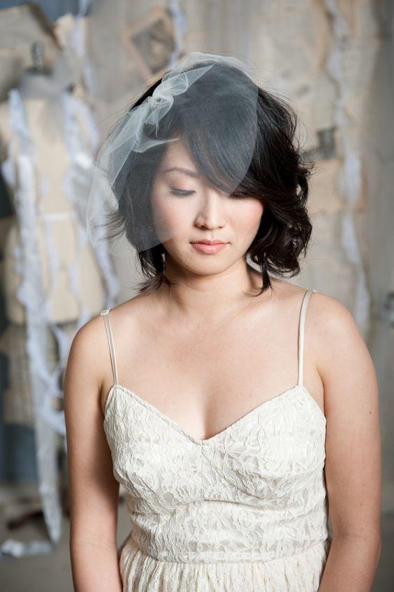 20 Melhores ideias de penteados para noivas com cabelo curto