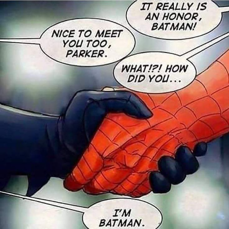 #batman #spiderman