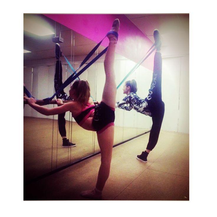 Extend Bands #stretch #flexibility #dance