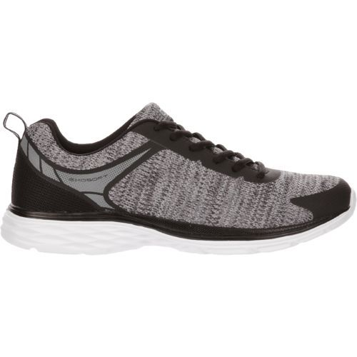 BCG Men's Lithium II Running Shoes (Black/Grey, Size 10.5) - Men's Running Shoes at Academy Sports