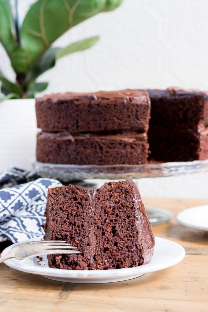 Obtenez cette recette de gâteau au chocolat facile et léger Vegan. Ce gâteau végétalien goûte …   – VEGAN