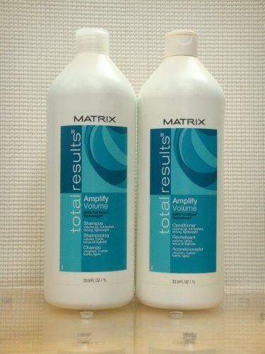 Matrix Total Results Amplify Volume Shampoo and Conditioner 1 Liter Duo Set by Matrix. $28.99. New Matrix Total Results Amplify Volume Shampoo and Conditioner 1 Liter Duo Set (Total 2 Bottles). Matrix (100% Authentic Product). USPS Expedite Shipping