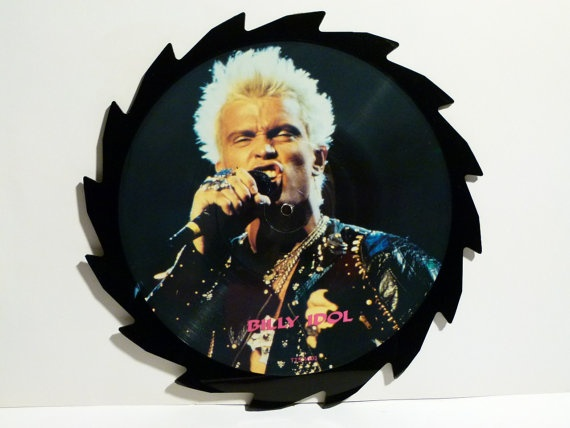 BILLY IDOL Limited Edition Interview Picture Disc Vinyl 1988
