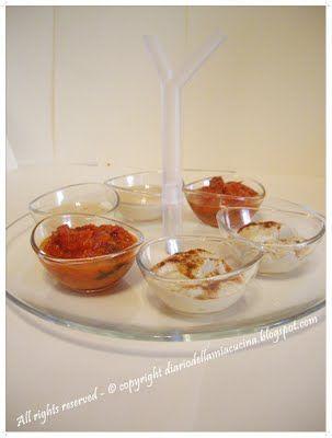 ©Diario della Mia Cucina - Ricette semplici, veloci e golose: Arista al curry con salsine miste