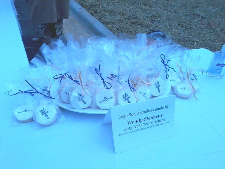 Wake Tech Logo Cookies by Wendy Stephens, WTCC Baking Pastry Arts Graduate