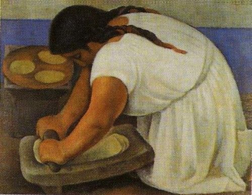 Famous Mexican Paintings | Diego Rivera – Chipotle Chicken Enchiladas