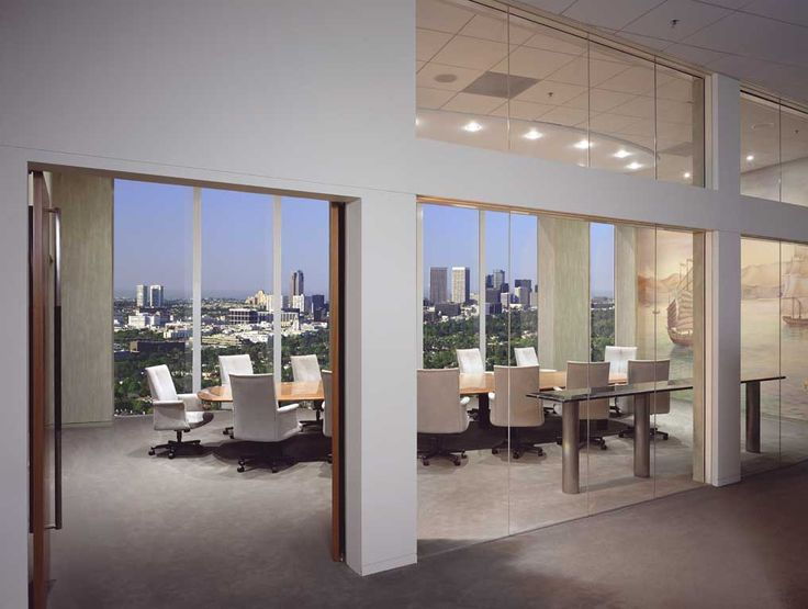 A Conference Room View With Southern Views Of Los Angeles