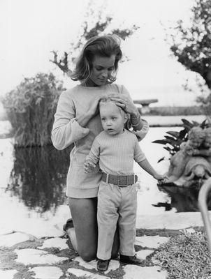 Romy Schneider, et son fils david