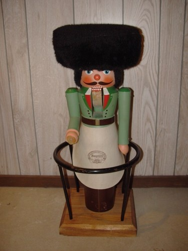 Huge Vintage Volkmar Matthes Nutcracker Bar Stool Germany