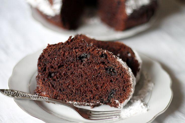 Шоколадов кекс с тиквички