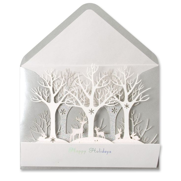Winter Forest Die-Cut Price $6.95
