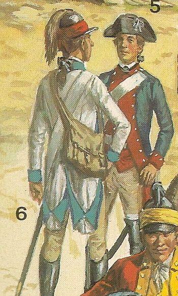 Nº 5..-Escuadron del capitan  Caldbury.- Nº 6.- Lifeguard de George Washington.: LA CABALLERIA DE LA REVOLUCIÓN AMERICANA, por Liliane y Fred FUNCKEN, = Biblioteca militar de Barcelona,