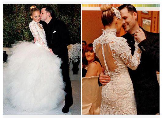 8 best Vestidos de novias Famosas images on Pinterest   Bridal gowns ...
