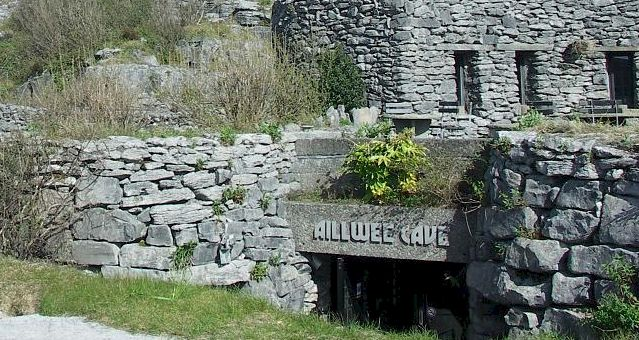 Ailwee cave near Bunratty Castle