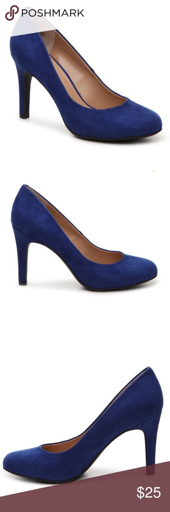 New Kelly & Katie Cobalt Blue Suede Pumps, Size 6 Brand new. Kelly & Katie Shoes Heels