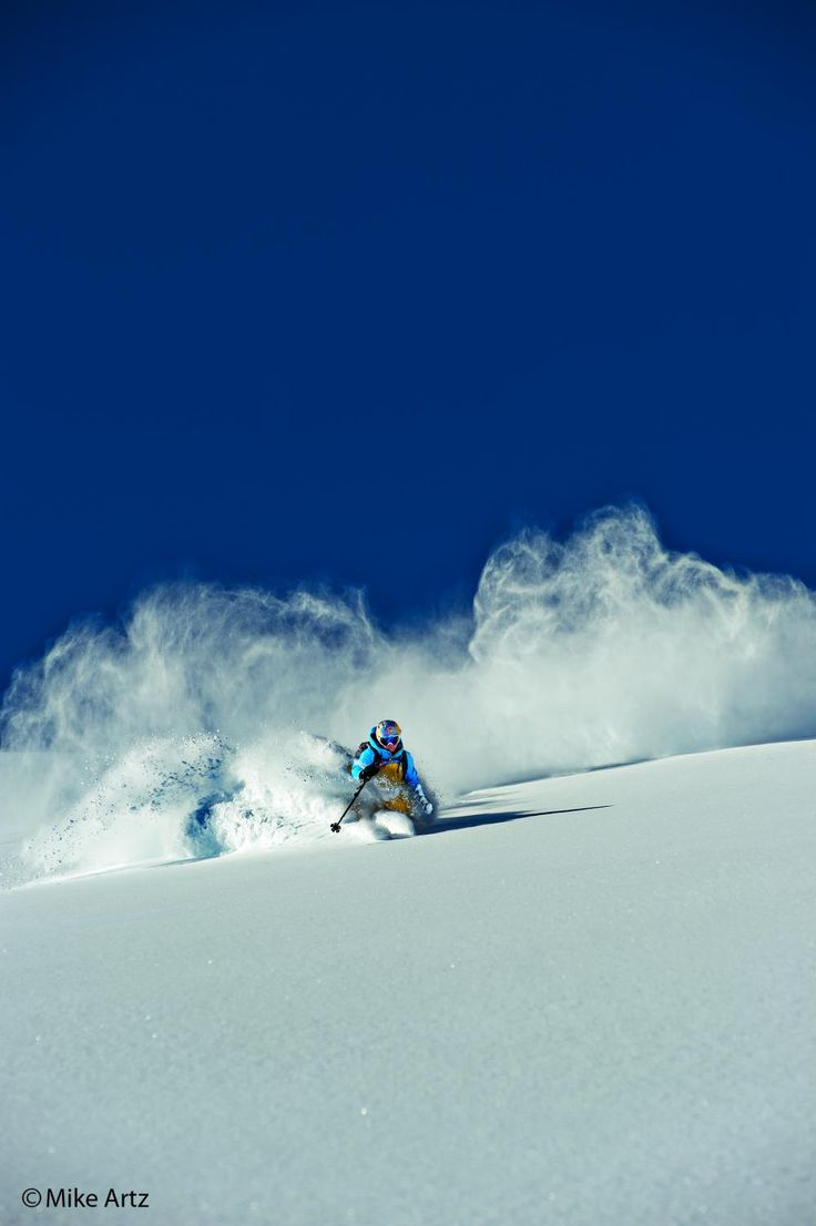 Steep and Deep, love the powder! - Daron Rahlves - Warren Miller skier