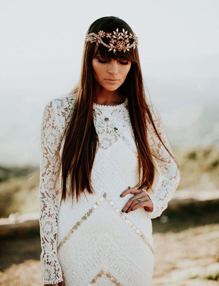 Stunning boho chic look