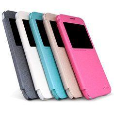 [US$7.29] NILLKIN Sparkle View Window Leather Case For Samsung Galaxy E5 E500  #case #e500 #galaxy #leather #nillkin #samsung #sparkle #view #window