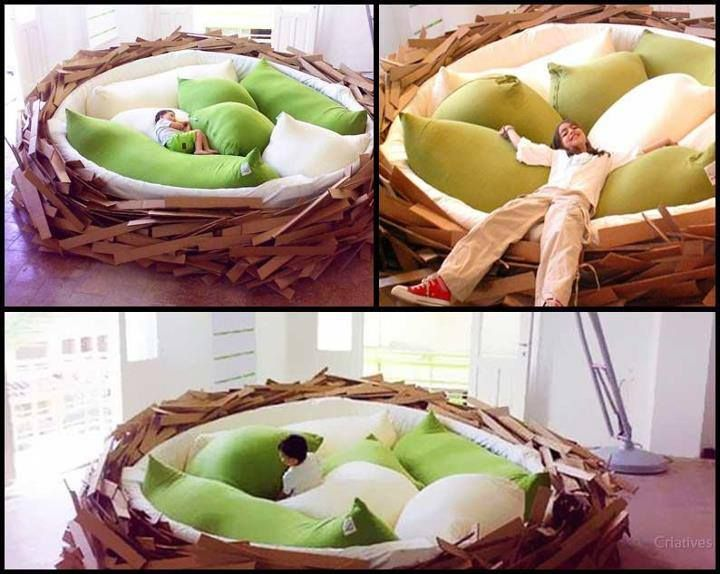 How About A Comfy Nest In Your Living Room Instead Of Sofa #CoolProducs  #KidsActivities Part 98